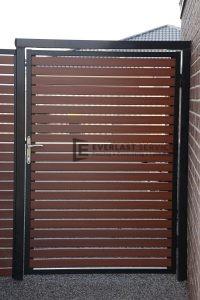 DW13 - Horizontal Aluminium slat door - Werribee