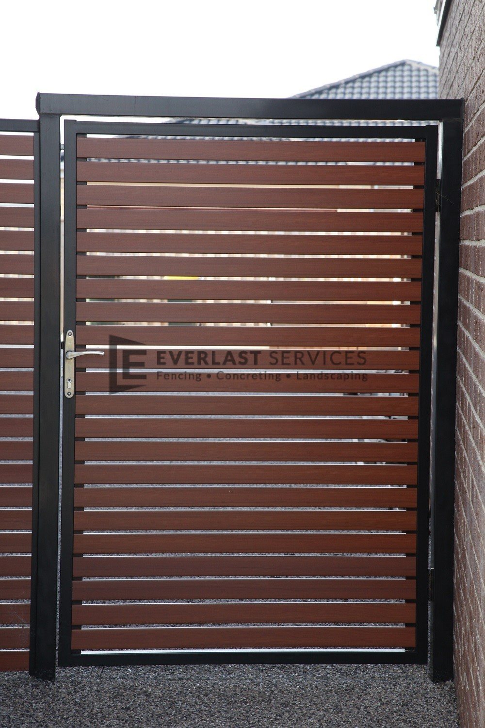 DW13 - Horizontal Aluminium slat door - Werribee & DW13 - Horizontal Aluminium slat door - Werribee - Everlast Services