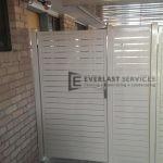 DW17 - Aluminium Slats Single Gate