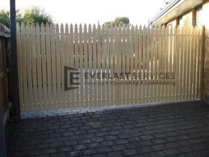 SWG19 - Primrose Aluminium Pickets Double Gate - Point Cook