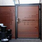 SS29 - Horizontal aluminium slat door - Werribee