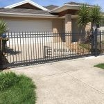 SG30 - Ring and Spear Manual Sliding Gate at Point Cook