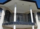 SF47 – Black Custom Pattern Steel Fencing Balustrade