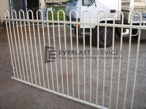 SP6 - Loop Top Pool Fence Panel