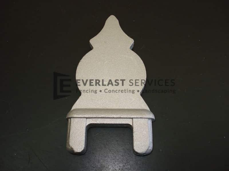 FS66 - Plain steel picket head