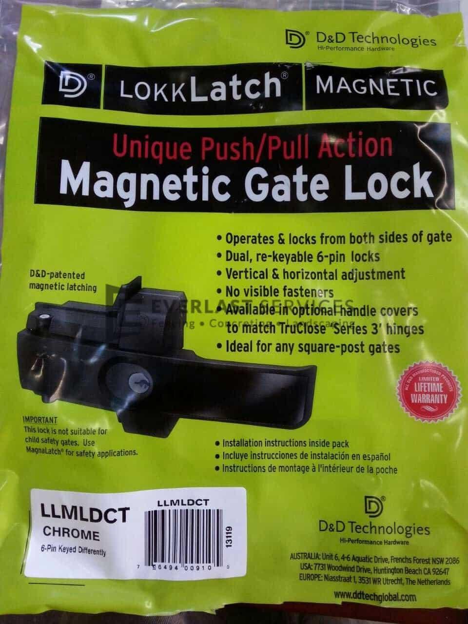FS69 - D&D Technology Double Gate Lock