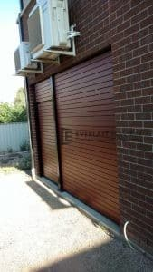 A70 - Jarrah Slats Alfresco Door