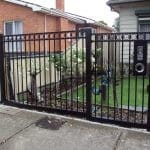 SF68 - Black Oxley Ring Fencing Panels