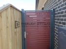 SS100 – 75 x 16 Jarrah Slats Single Gate