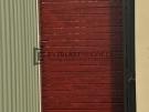 SS8 – Woodland Grey Post + Frame with Jarrah Slats Single Gate