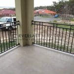 SF83 – Black Custom Oxley Cross Balustrade View 4