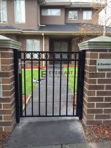 84 - Black Front Steel Gate