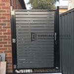SS104 - Aluminium Slats Single Gate