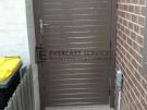 SS76 – Jasper Aluminium Slats Single Gate