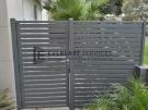 SS103 – Aluminium Slats Single Gate + Panel