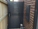 SS69 – Monument Aluminium Slats Single Gate