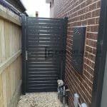 SS69 - Monument Aluminium Slats Single Gate