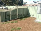 CB41 – Colourbond Fencing Green with Custom Pattern