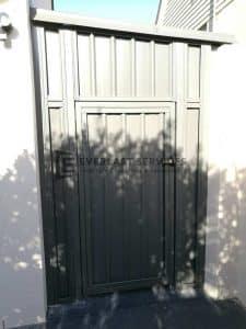 SS85 - Colourbond Single Gate
