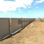 SS88 - Colourbond Sliding Gate + Single Gate - 2