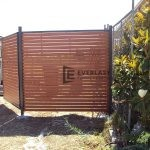 A34 - Horizontal Wood Privacy Screen - Point Cook