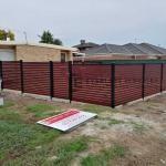 A150 - Jarrah Boundary Slats Fencing