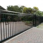 SG68 - Motorised Steel Sliding Gate