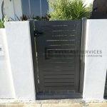 SS86 - Slats Single Gate