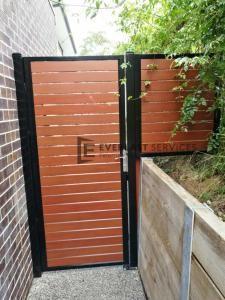 SS101 - Single Gate + Framed Panel