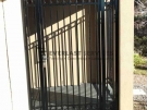 SS75 – Black Double Oxley Ring Security Gate 2