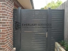 SS83 – Monument Slats Single Gate with 2 Panels