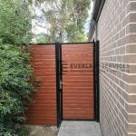 SS102 - Slats Single Gate + Panel