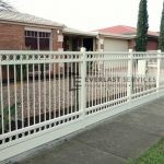 SF115 - Double Oxley Ring with Sleeper Steel Fencing