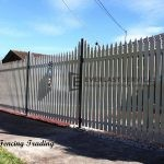 SF124 - Steel Picket Fence