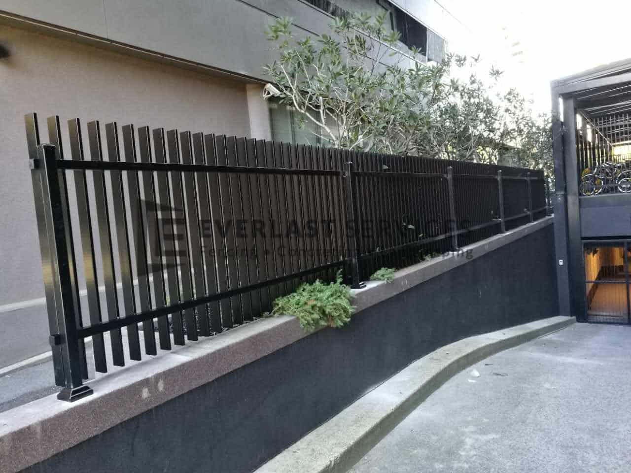 A191 Vertical Blade Aluminium Fencing Everlast Services
