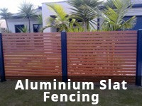 Aluminium Slat Fencing