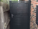 SS53 – Charcoal Slats Side Gate