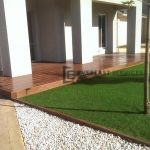 T31 - Merbau Front Porch Timber Decking