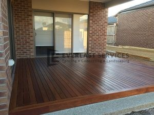 T3 - Timber Decking Side View
