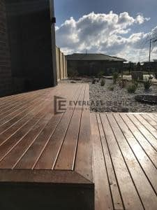 T85 - Merbau Front Decking Steps
