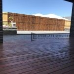 T56 - Decking + Bamboo Screening