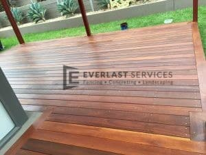 T42 - Close up Jarrah Decking