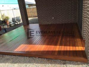 T49 - Timber Decking Under Porch