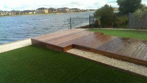 Timber Decking River View