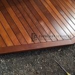 T48 - Timber Decking Close Up