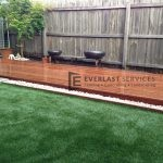 L1 - Grass Landscaping Timber Deck