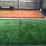 L23 - Backyard deck and lawn