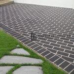STE4 - Herringbone Stencil Concrete