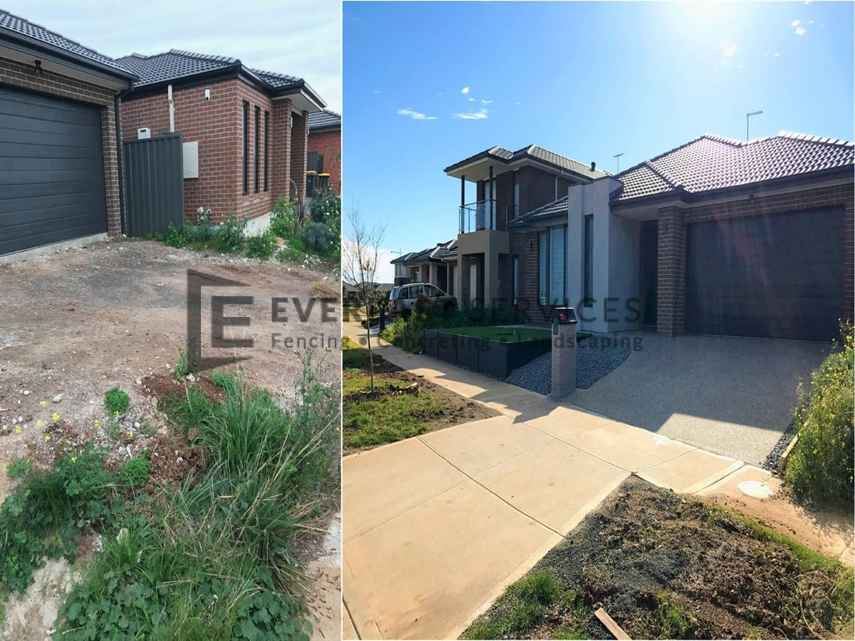 L107 - Before and After Landscaping