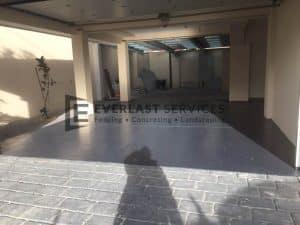 CC9 - Bluegum Coloured Concrete
